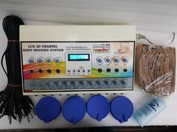 LCD 20 Channel Body Shaping System