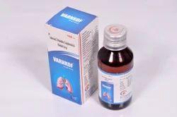 Ambroxol 15mg Terbutaline Sulphate Syrup