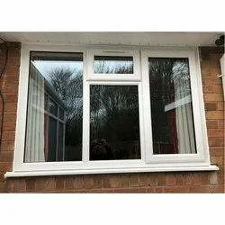 SAINT GOBAIN Plain UPVC Window Glass, Thickness: 4 To 14 Mm
