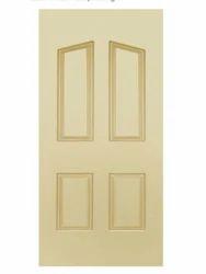 Hardy Plast Solid Wood Door, Size/Dimension: 7x3 Feet
