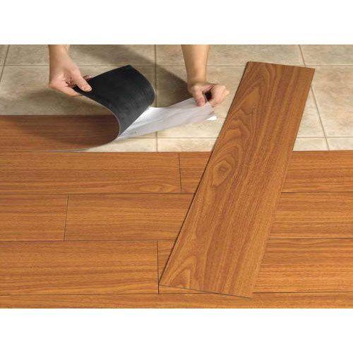 Pvc Vinayl Flooring विनाइल फ्लोरिंग Reliable Interior