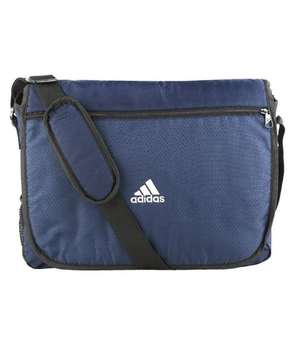 ca60404b92 Adidas-Blue-Polyester-Casual-Messenger Bag at Rs 640  piece ...