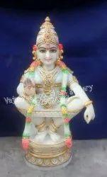 Lord Ayyappa Marble Statue