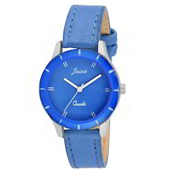Blue Women Sports Wrist Watch