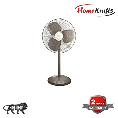 Homekrafts Astra 500mm (20 Inch) High Speed Farrata Pedestal Fan Titanium  Grey (farata Fan)
