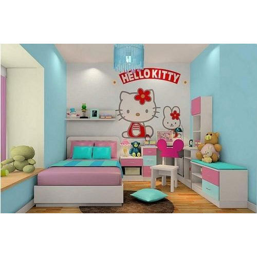 Multi Vinyl Hello Kitty Wallpaper Rs 45 Square Feet Wall Flavors