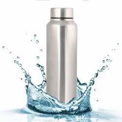 Stainless Steel Silver Water Bottle