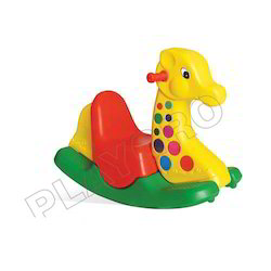 Jumbo Giraffe Ride on Toy