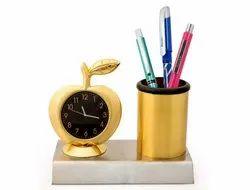 Desktop Clock with Pen