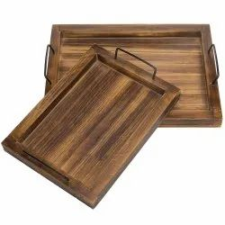 Elements Wooden Serving Tray Large