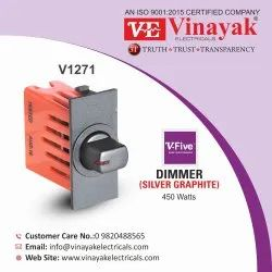 Electronic Dimmer Silver Graphite