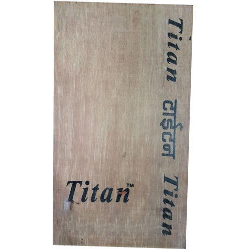 Titan Rectangular Commercial Plywood, Thickness: 12 mm