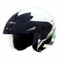 Cruiser with Peak Helmet