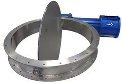 Damper Butterfly Valve, Size: 40 To 300mm