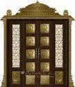 Pooja Mandapam With Doors