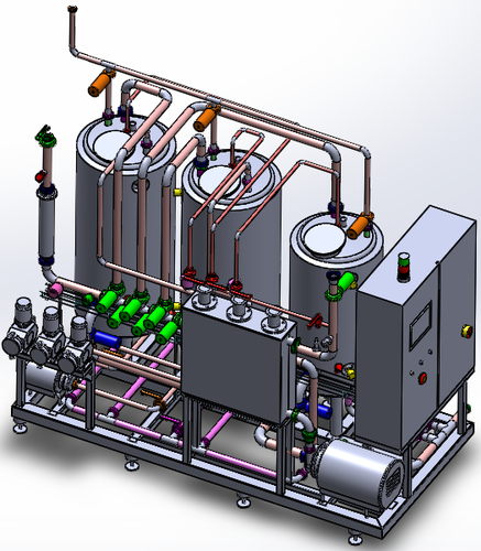 3d Plant Layout And Piping Design In Gidc Area, Anand