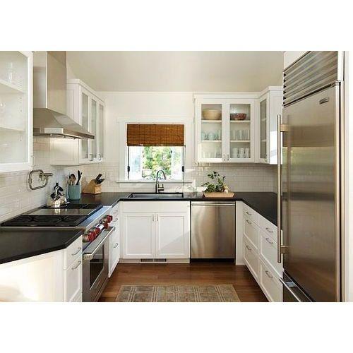 Kitchen Designs U Shaped: Wooden U Shaped Kitchen, Rs 1500 /square Feet, Mosaic