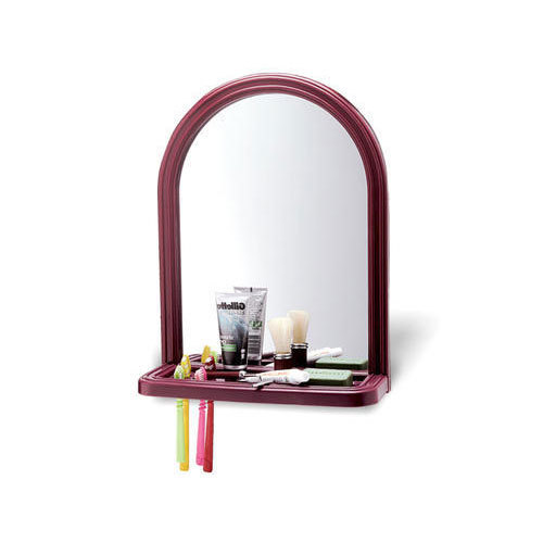 18 X 14 Inch Red Plastic Frame Bathroom Mirror Frame Rs 106 Piece
