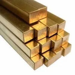 Solid Brass Square Rod, for Construction