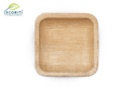 Ecoriti Biodegradable Eco Friendly Disposable Leaf Square Bowl
