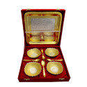 German Golden Plated Bowl Set