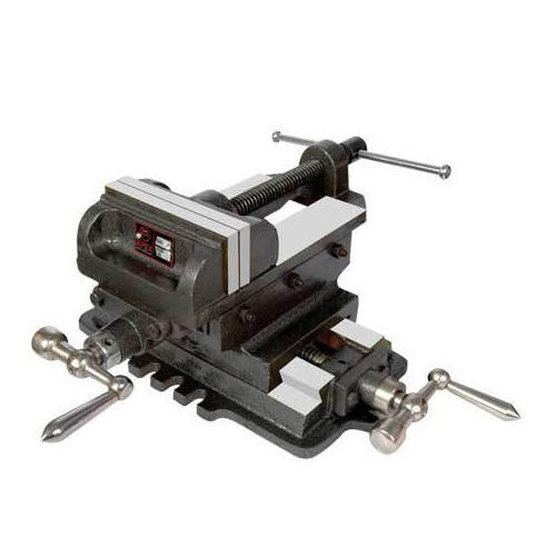"""Precision Ground 8/"""" Machine Vise Smooth Step Serrated Jaw Faces"""