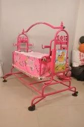 Color Coated Fancy Baby Cradle