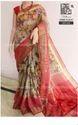Digital Silk Linen Saree