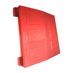 Red FRP Large Tractor Canopy