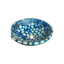 Multicolor Resin Desiner Basin