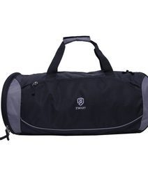 Black And Grey Duffle Bags