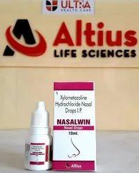 Xylometazoline Nasal Drops IP 0.1 W/V Drops