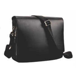 Black Corporate Leather Bag