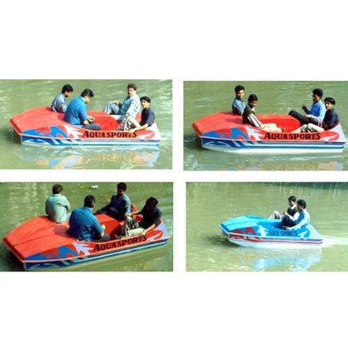 FRP Paddle Boat, Number Of Seater: 4