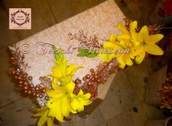 Pink And Yellow Wedding Trousseau Packing