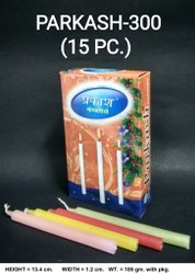 Parkash-300/15 Color Deepawali Candles