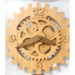 Analog Wood Designer Wall Clock
