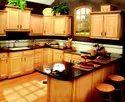 Standard Plywood Decorative Wooden Kitchen Furniture, Size/dimension: Custom