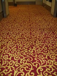 Velvet Printed Hand-Tufted Custom Design Carpet