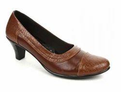 Senorita Womens Brown Formal Ballerina Shoes