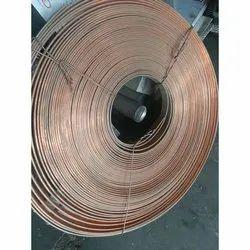 Polished Rectangular Copper Flat Busbar Coil