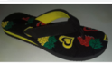 Mens Embossed PVC Slippers