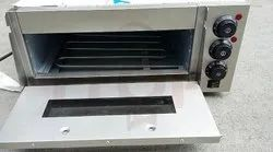 Single Deck Oven Electric Pizza Oven, Capacity: 2.0, 105