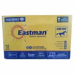 110 Ah Eastman Rickshaw Battery, Model Name/Number: Em100er, Warranty: 12 Months