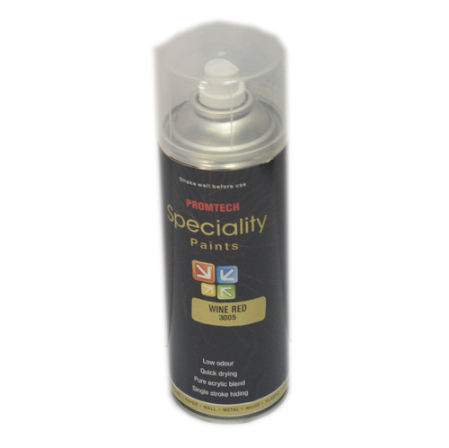 Thermocol Compliant Wine Red Spray Paints