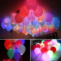 Party LED Balloons, Packaging Size: Pack of 5