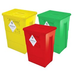 Color Coded Hospital Bins