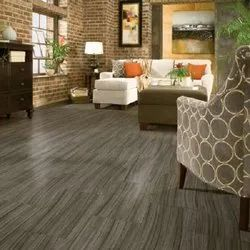 Gray Plain Armstrong Flooring, For Residential