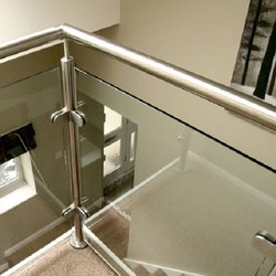 Round Baluster Glass Handrails