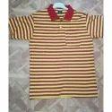 Striped Collar T Shirts